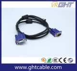 High Quality Male/Male VGA Cable 3+4, 3+5 for Monitor/Projetor (J002)
