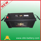 Manufacturer 12V150ah Mf Auto Battery Car Rechargeable Electric Vehicle EV Battery 145g51-Mf