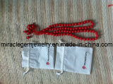 Plastic Prayer Beads, Plastic Rosary Beads, Rosary Beads with Velvet Bag