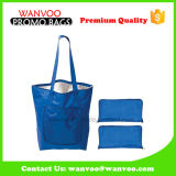 Blue Fashion Foldable Cooler Bag Made of Polyester