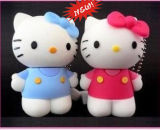 3D Hello Kitty USB PVC Cartoon USB Flash Disk Pendrive Flash Drive 64GB