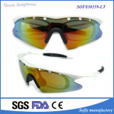 Fashion Exchangeable Sports Tr90 Sunglasses with Inside Optical Frames