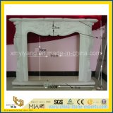 Custom Classic Natural Stone-Marble & Granite Fireplace with Mantle