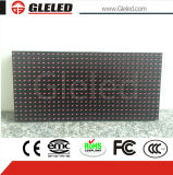 Low Cost Outdoor P10 Single Red Color LED Screen Module