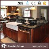 Black Galaxy Granite Vanity Top/Countertop for Kitchen/Bathroom