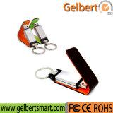 Leather Key Chains USB 2.0 Flash Drive Thumb Memory Stick