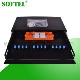 Black Luxury Design Fiber Optical ODF 12cores