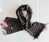 100% Yak Wool Scarf / Men′s Yak Wool Scarf / Plaid Yak Cashmere Wool Scarf
