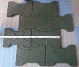 Children Playground Interlocking Rubber Floor Tiles