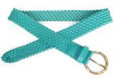Young Lady′s Fashion Weave PU Belt (KY1743)