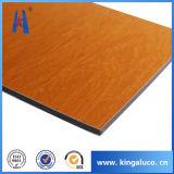 Wooden Face 5mm Aluminium Composite Panel