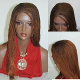 Fully Hand Braided Lace Wig Hannah 4/33 in 17