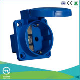 Schuko Panel-Mounted Socket for Industrial Plugs & Sockets