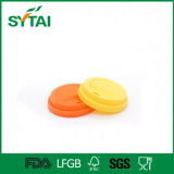 Various Design Eco-Friendly Healthy Recycled Plastic Lids for Paper Cup