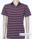 Men′s Polo T-Shirt with Cotton and Lycra Fabric (BG-M107)