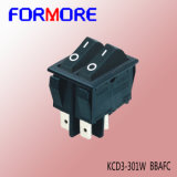 Four Pins Double Pole Rocker Switch /High Current Swith