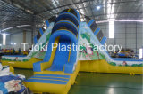 Kids Playground Outdoor Giant Commercial Inflatable Water Dry Slides (RC-014)