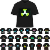 Graphic Equalizer LED T Shirts