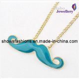 Smile Pendant Long Chain Necklace/ Fashion Necklace/Cheap Necklace (XJW12102)