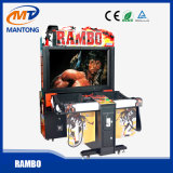 Rambo Arcade Coin Operated Shooting Game Machine Indoor Video Game for Game Center