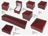 Wood Ring Box, Glossy Jewelry Box, Jewellery Box for Ring