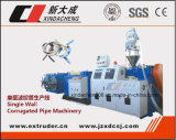 Single Screw Extruder Plastic Corrugation Pipe Extrusion Line