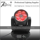 6PCS 40W Zoom Moving Head Wash Stage Lighting