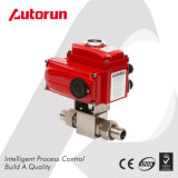 Stainless Steel High Pressure Ball Valve with Electric Actuator
