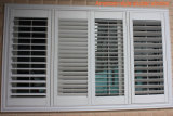 High Quality Customized American Style PVC Shutter Window