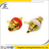 3.5mm RCA Jack RCA Female Connector with Gold Plated