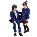 UK Style Primary School Students Pupil Formal Exhibition Uniform Suits