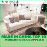 Pure White Latex Loveseats Modern Leather 1+2+3 Sofa