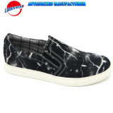 Latest Design Color Man′s Shoes with Printed Lightning Textile