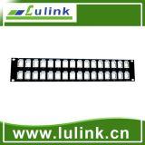 Best Price Black Patch Panel 32 Port Cable Management