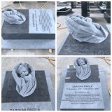 Germany Design Baby Tombstone Polish