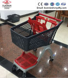 Factory Price All Plastic Shopping Cart Trolley