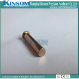 Color Zinc Coating Solid Rivet Customized Steel Pins
