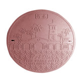Composite Plastic Elliptical Manhole Cover and Frame