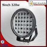 320W 9inch High Power LED Car Driving Light, IP67, 6000K, Rhos Certification