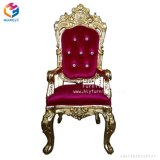 Decoration High Quality Wedding High Back King Queen Chair Hly-Sf106