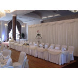 2016 New Design Pipe and Drape 90 Kits Wedding Stage Curtain Promotion