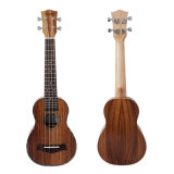 21 Inch Long Neck Laminated Koa Body Hawaii Ukulele Instrument