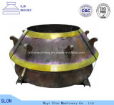 Cone Crusher Parts Symons 2′ Standard Concave and Mantle with High Quality