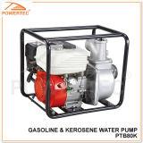"Powertec 4-Stroke 196cc 3"" Gasoline & Kerosene Water Pump"