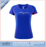 Men Polyester Sports T-Shirt, Running T-Shirt with Custom Logo Printing