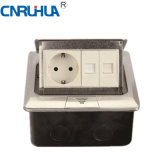 China High Qualtiy Easy Use German TV & One-Way Floor Socket