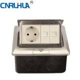 China High Qualtiy Easy Use German TV & One-Way Floor Socket