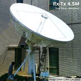 4.5m Rx Tx Earth Station Antenna (Truss Stand, Motorized)