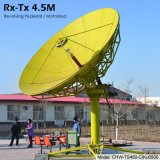 4.5m Rx Tx Earth Station Antenna (Revolving Pedestal Stand, Motorized)