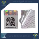 Tamper Evident Security Anti-Fake Stickers with Qr Code Printing